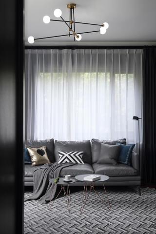 110平米混搭风格装修沙发设计图