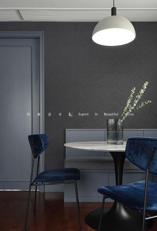 110平米混搭风格装修餐桌椅设计图