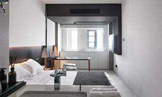 小户型现代公寓装修效果图