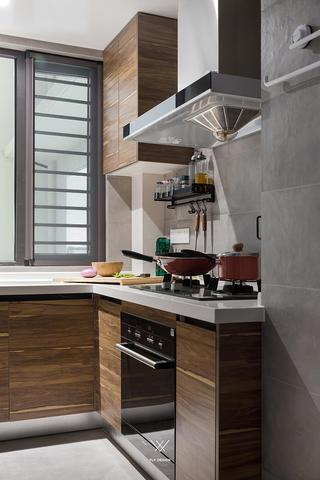 110㎡现代北欧风厨房装修效果图
