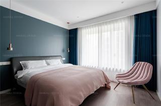 135㎡现代风格卧室装修效果图