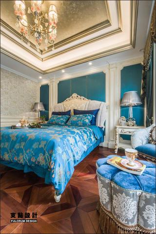 大户型奢华法式风格卧室装修效果图