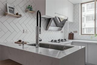 120㎡日式风格厨房装修效果图