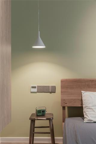 120㎡日式风格装修床头吊灯设计
