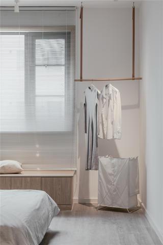 120㎡日式风格装修卧室一角