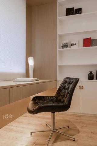简约现代风格三居装修书桌设计图