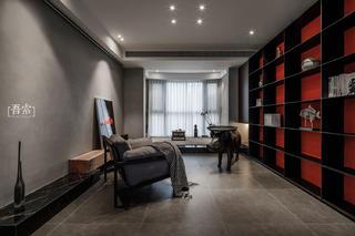 138平米三居室客厅装修效果图