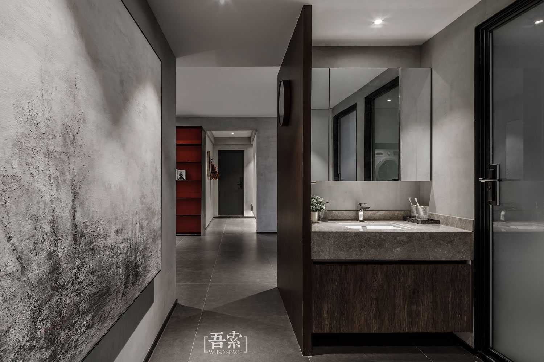 138平米三居室过道装修效果图