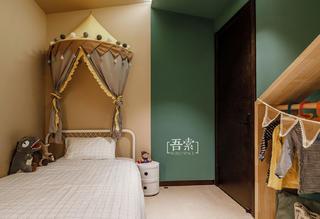 138平米三居室儿童房装修效果图