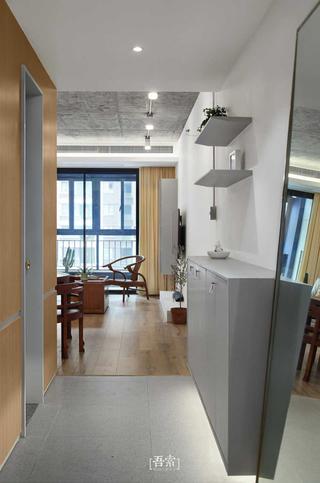 二居室混搭风格玄关装修效果图