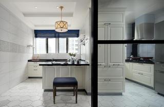 混搭风格四居厨房装修效果图