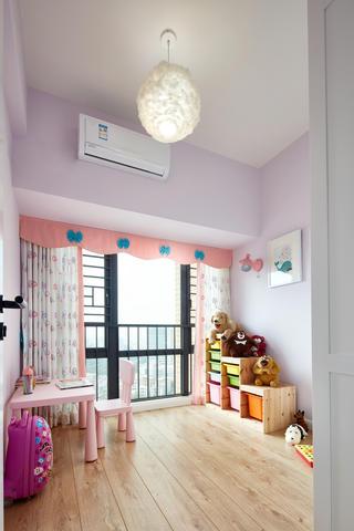 88㎡清新北欧风格儿童房装修效果图