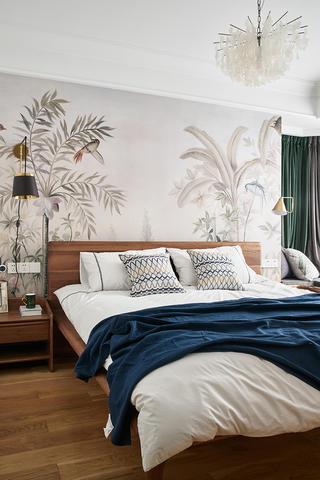 135㎡休闲美式风卧室装修效果图