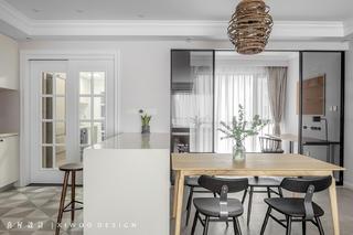 115平米三居室餐厅装修效果图