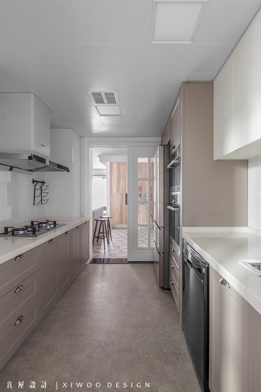 115平米三居室厨房装修效果图