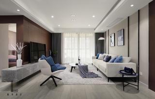 142平米三居室客厅装修效果图