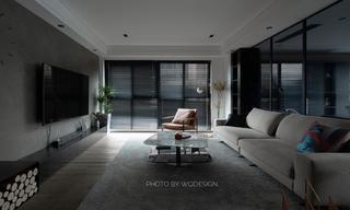 140㎡现代风三居室装修效果图