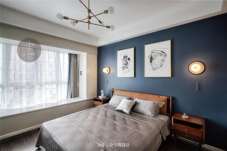 135㎡现代简约风格卧室装修效果图