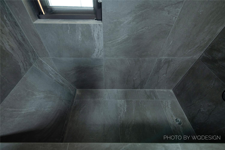 105平简约现代风装修浴缸设计图