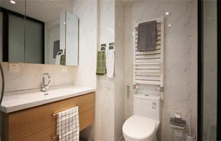 40米小户型公寓卫生间装修效果图