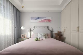 150㎡简约美式卧室装修效果图