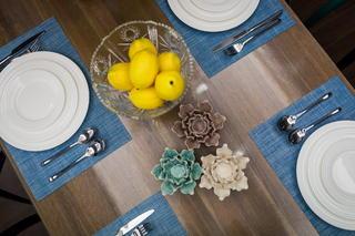 大户型美式风格装修餐桌布置图