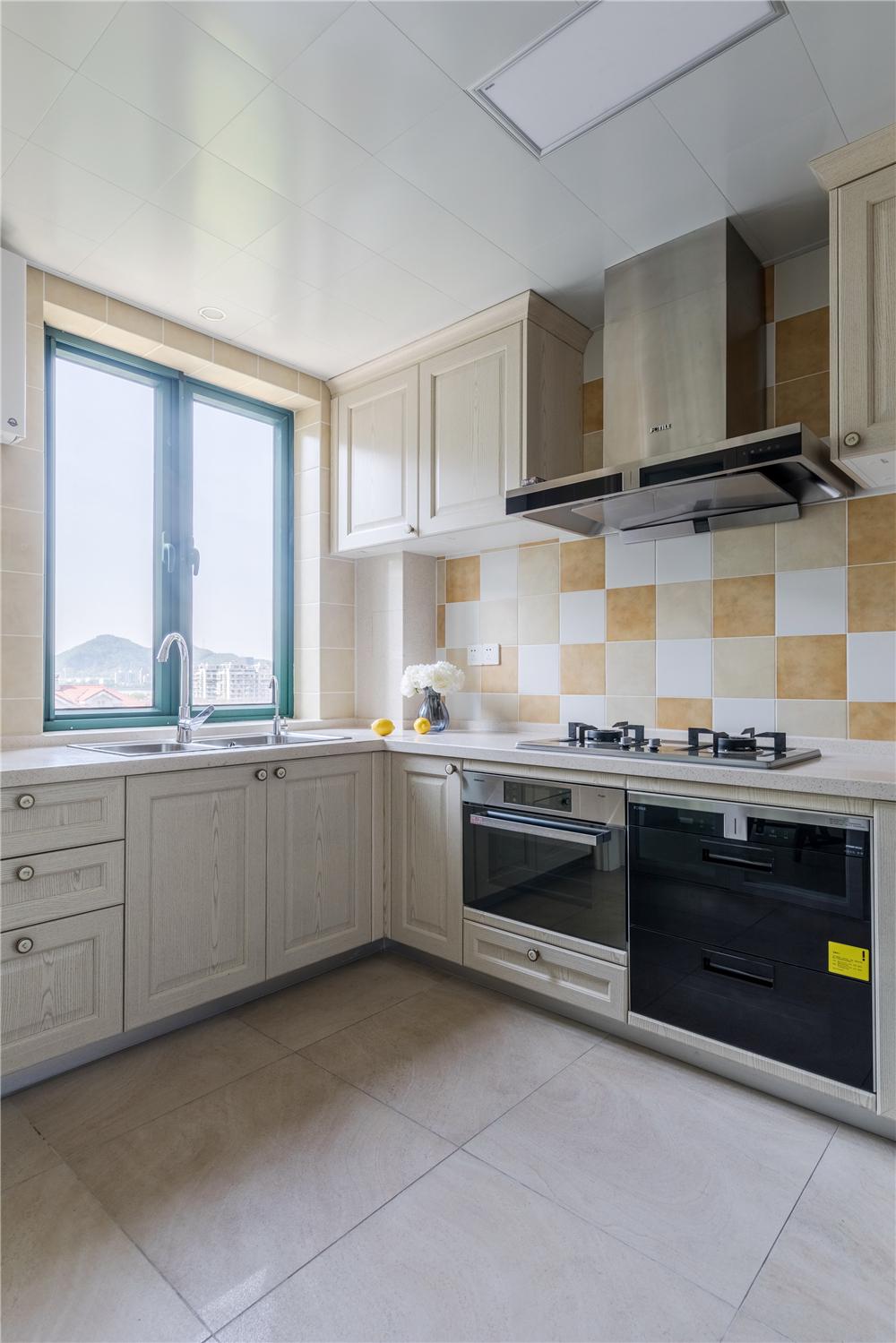 170㎡美式风格厨房装修效果图