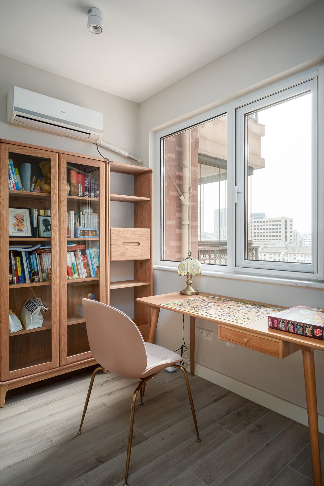 北欧风格二居室书房装修效果图