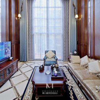 美式风格别墅亚博唯一授权官网效果图