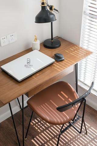 87㎡现代北欧风装修书桌椅设计图