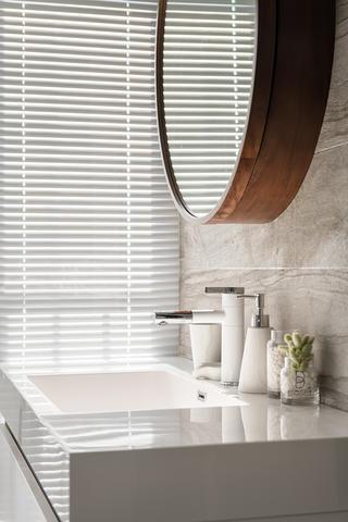87㎡现代北欧风装修洗手台设计
