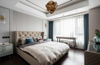 现代轻奢风四居卧室装修效果图