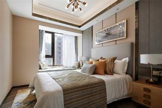 现代轻奢风格三居卧室装修效果图