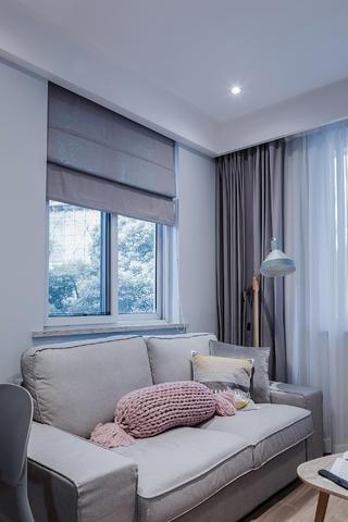 小户型北欧风格装修沙发设计图