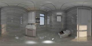 三居室现代简约卫生间每日首存送20