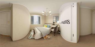 三居室现代简约卧室每日首存送20
