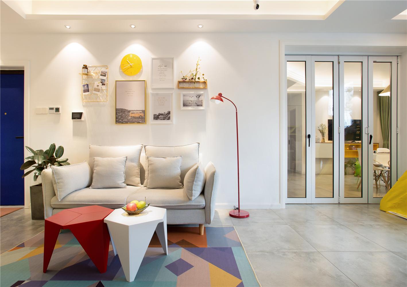 北欧风格沙发背景墙装修效果图