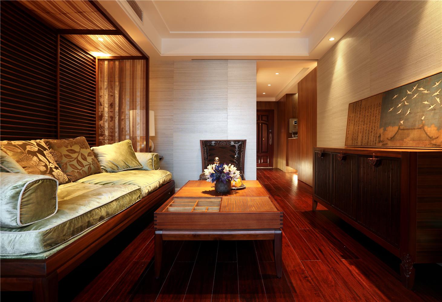 东南亚风格二居客厅每日首存送20