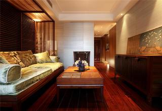 東南亞風格二居客廳裝修效果圖