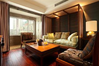 东南亚风格二居客厅装修效果图