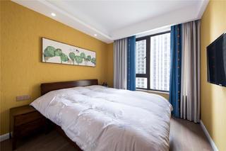 现代风格四居卧室装修搭配图
