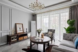 103平美式风格客厅装修效果图