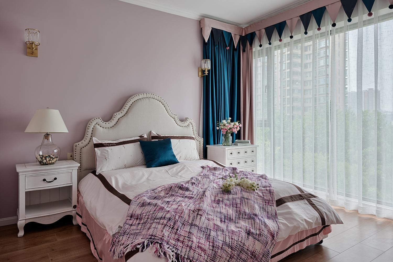 103平美式风格卧室装修效果图