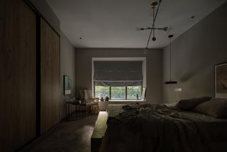 北欧风混搭别墅卧室装修效果图