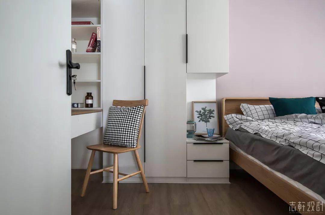 北欧风格三居室装修衣柜设计图