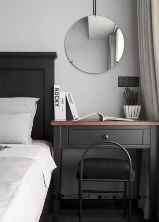 现代风二居室装修梳妆台设计