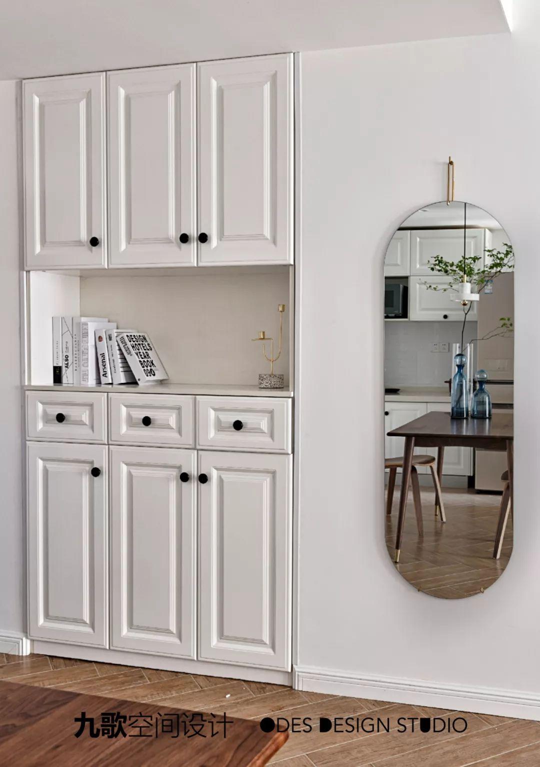 70平米两居室装修玄关鞋柜设计图