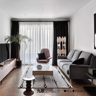 70平米两居室装修效果图