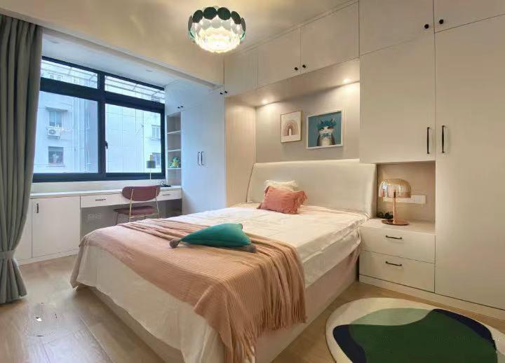 上海装修案例魔都中心  43㎡小户型 独居女孩的家