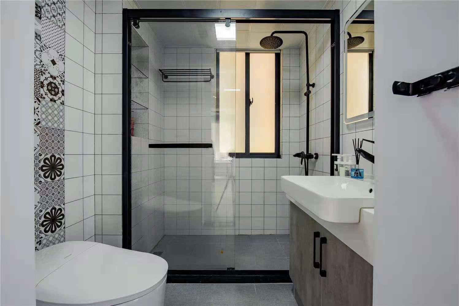 上海装修案例88㎡非凡素雅简约又时尚的家